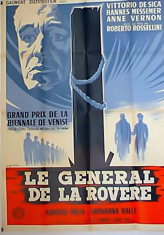 IL GENERALE DELLA ROVERE MOVIE POSTER/GENERAL DE LA ROVERE, LE/POSTER
