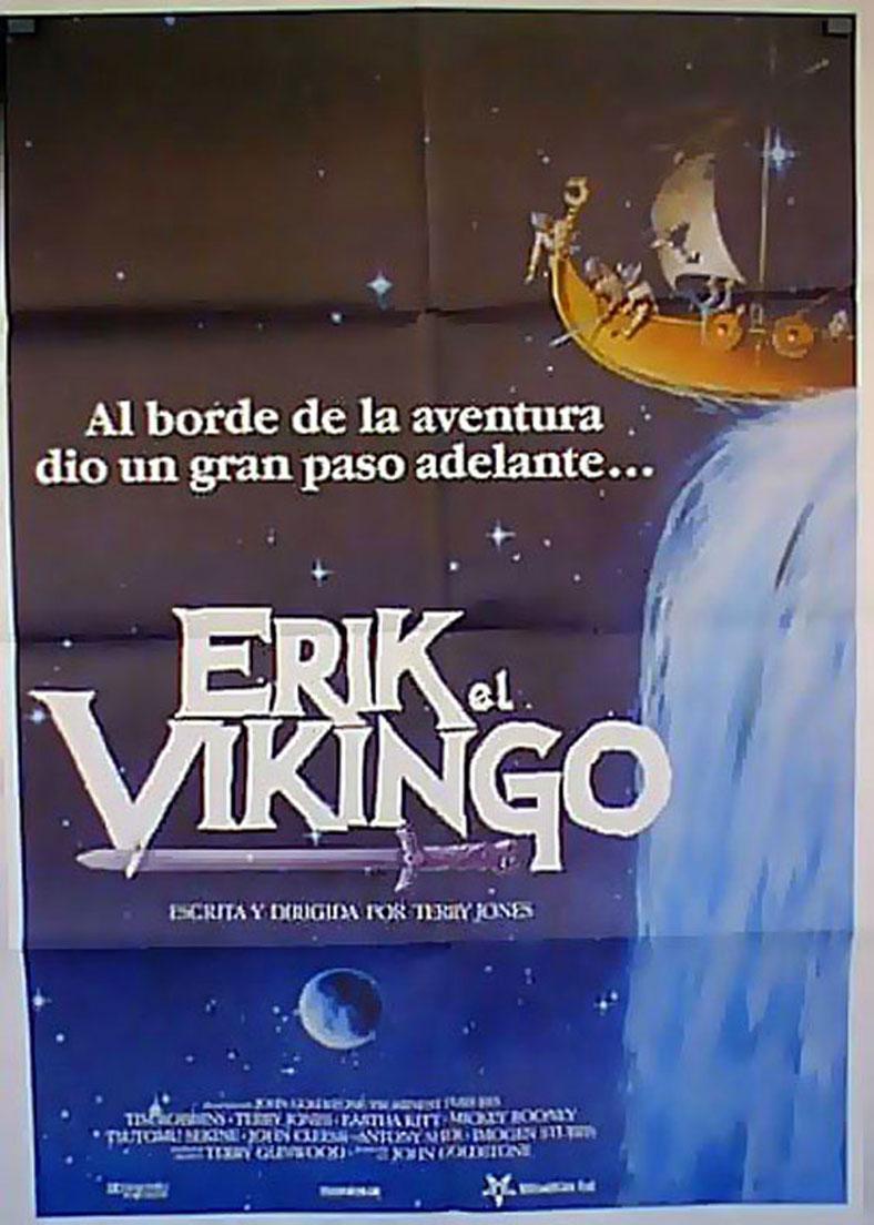 ERIK, THE VIKING MOVIE POSTER/ERIK EL VIKINGO/POSTER
