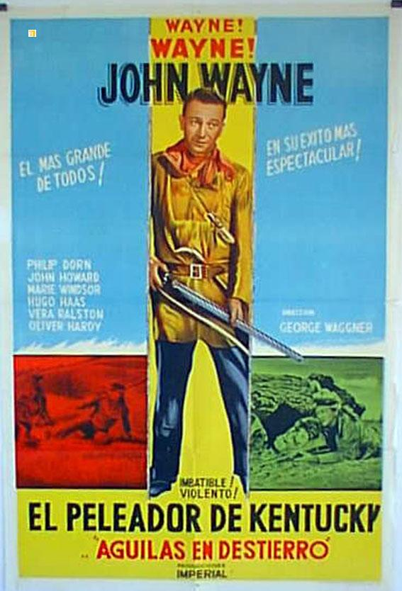 THE FIGHTING KENTUCKIAN MOVIE POSTER/PELEADOR DE KENTUCKY, EL/POSTER