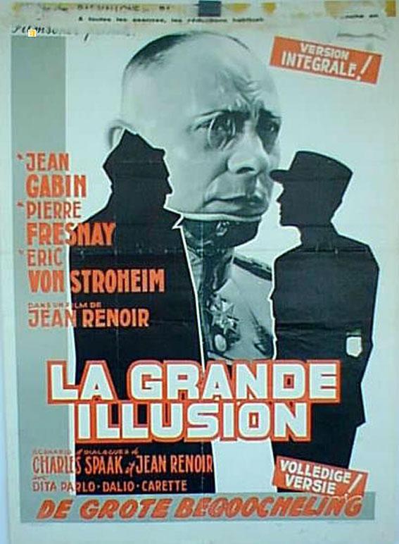 GRANDE ILLUSION res MOVIE POSTER/GRANDE ILLUSION, LA/POSTER