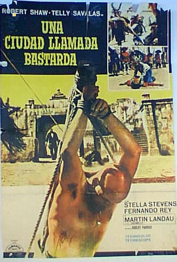 A TOWN CALLED HELL MOVIE POSTER/CIUDAD LLAMADA BASTARDA, UNA/POSTER