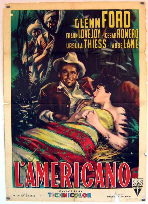 THE AMERICANO MOVIE POSTER/AMERICANO, L'/POSTER