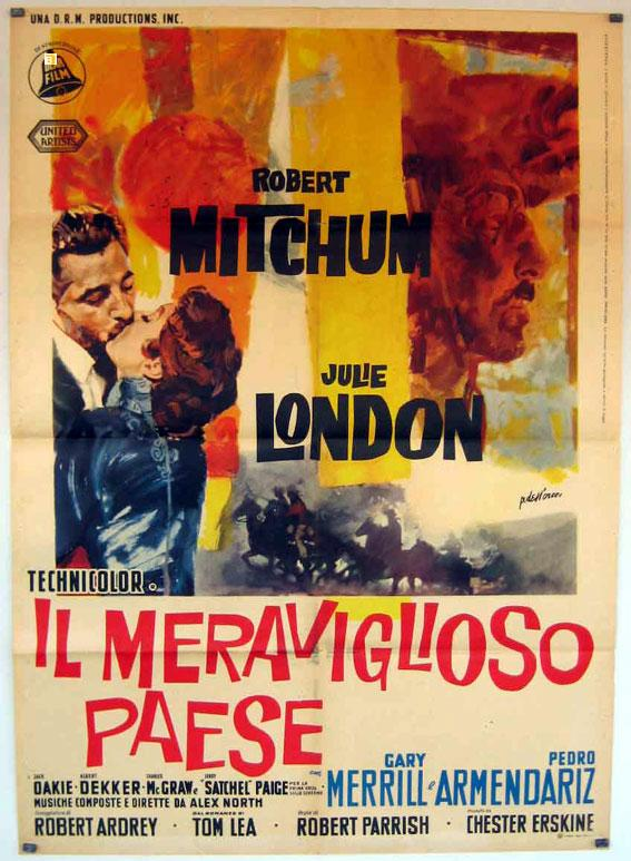 THE WONDERFUL COUNTRY MOVIE POSTER/MERAVIGLIOSO PAESE, IL/POSTER