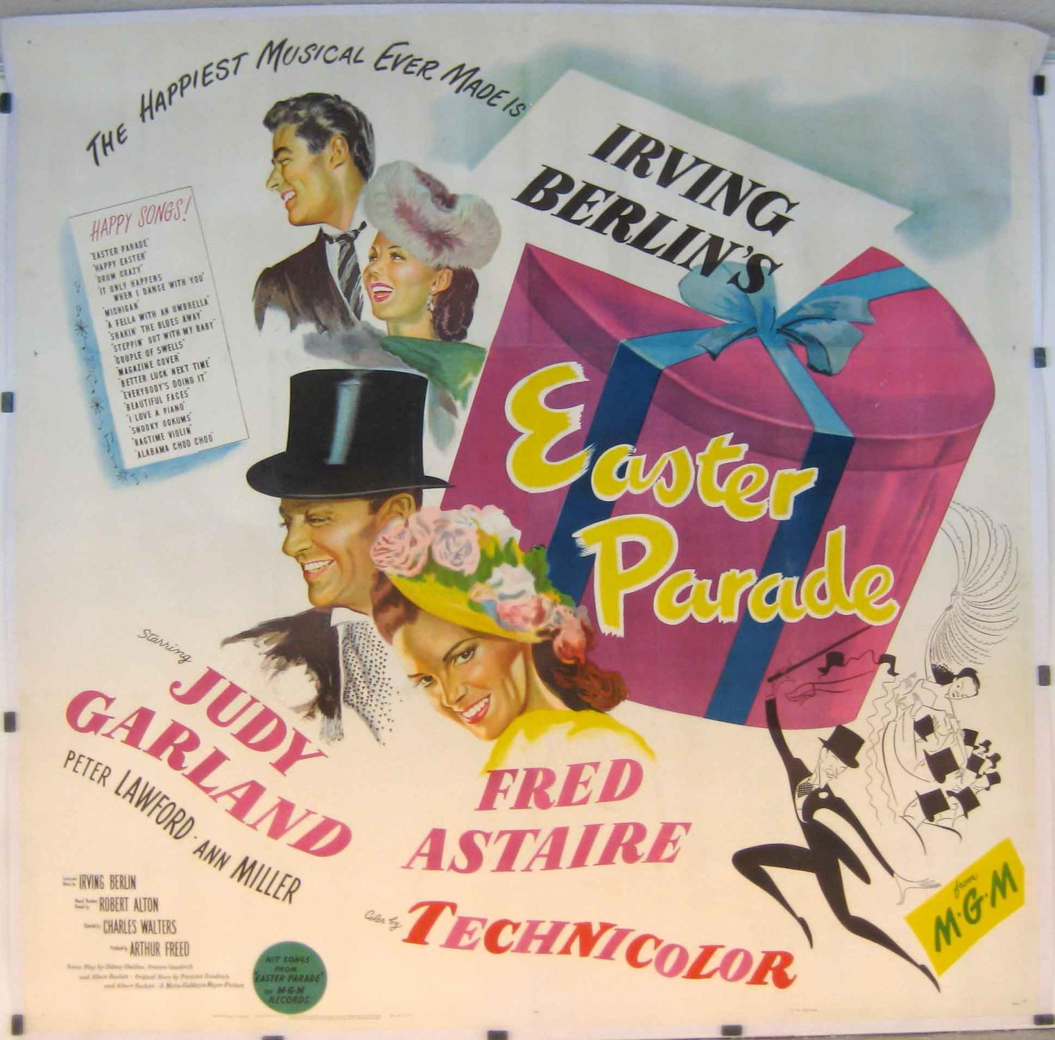 EASTER PARADE MOVIE POSTER/EASTER PARADE/POSTER