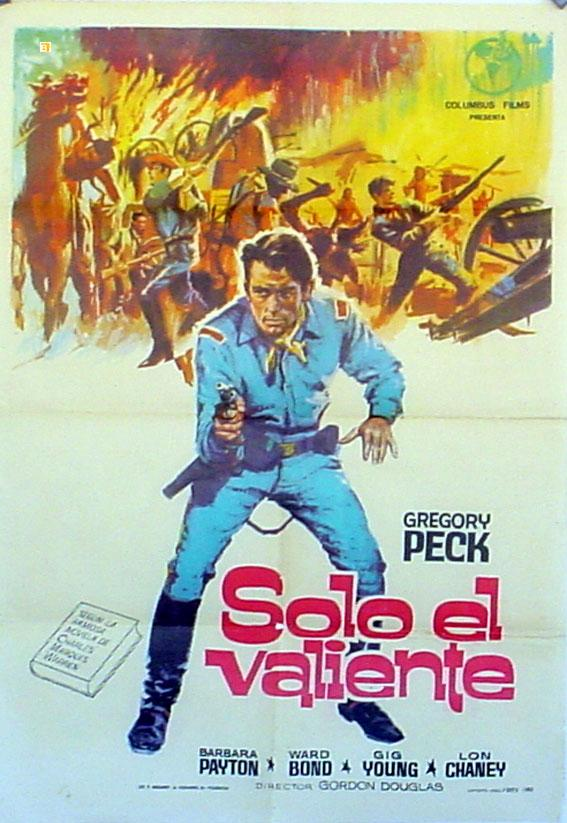ONLY THE VALIANT res MOVIE POSTER/SOLO EL VALIENTE/POSTER