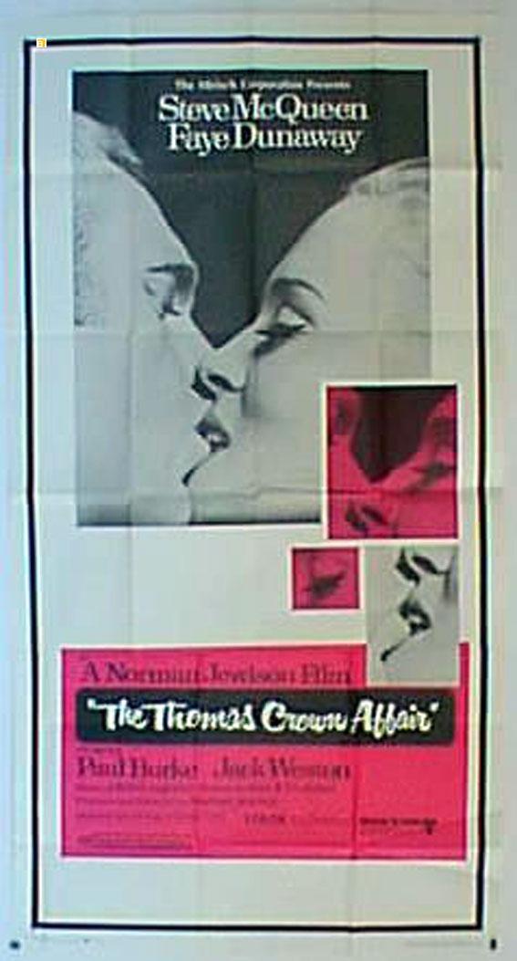 THE THOMAS CROWN AFFAIR MOVIE POSTER/THOMAS CROWN AFFAIR, THE/POSTER