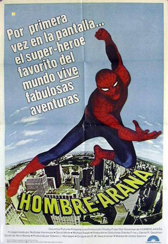 THE AMAZING SPIDER-MAN MOVIE POSTER/HOMBRE ARAÑA/POSTER