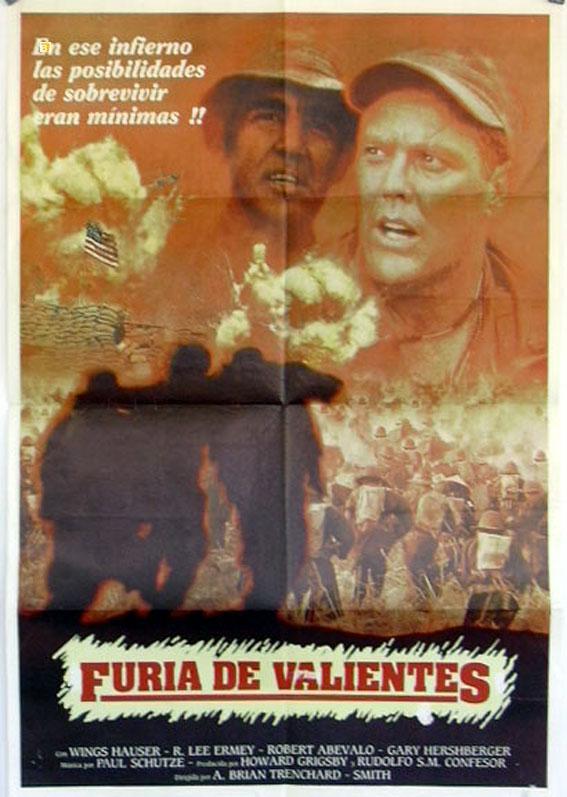 THE SIEGE OF FIREBASE GLORIA MOVIE POSTER/FURIA DE VALIENTES/POSTER