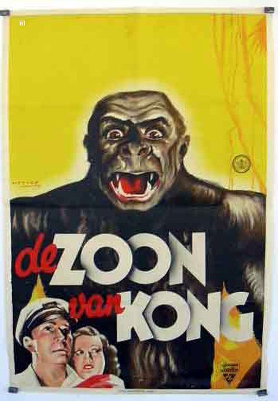SON OF KONG MOVIE POSTER/DE ZOON VAN KONG/POSTER