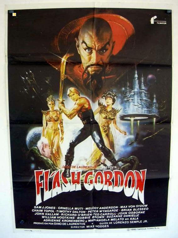FLASH GORDON MOVIE POSTER/FLASH GORDON/POSTER