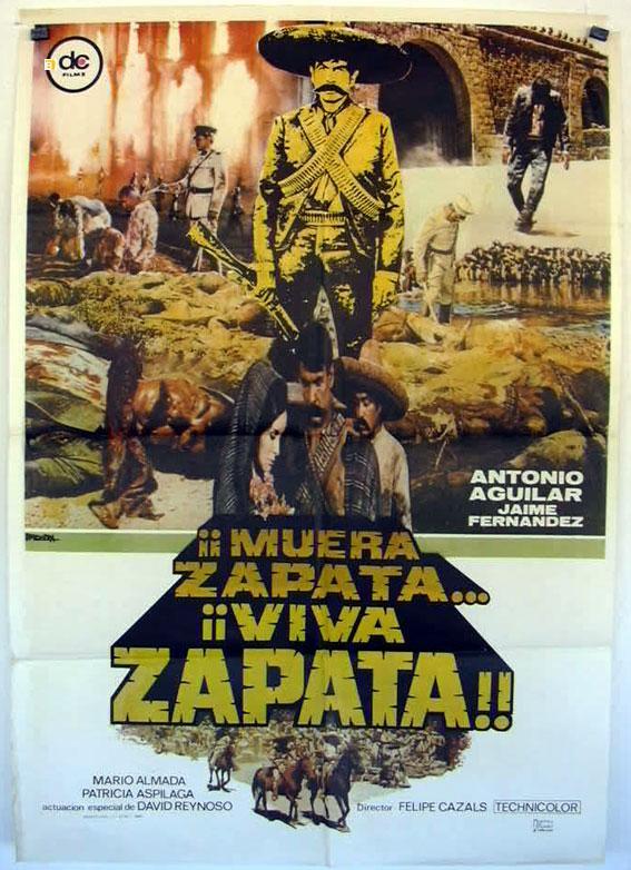 EMILIANO ZAPATA MOVIE POSTER/MUERA ZAPATA VIVA ZAPATA/POSTER