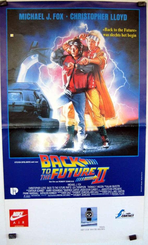 BACK TO THE FUTURE, PART TWO MOVIE POSTER/BACK TO THE FUTURE II/POSTER