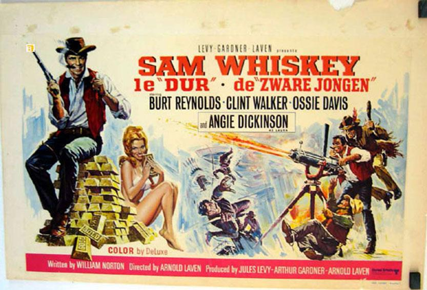 SAM WHISKEY MOVIE POSTER/SAM WHISKEY 1E DUR/POSTER