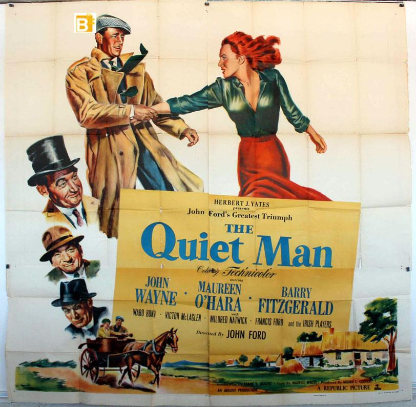 THE QUIET MAN MOVIE POSTER/QUIET MAN, THE/POSTER
