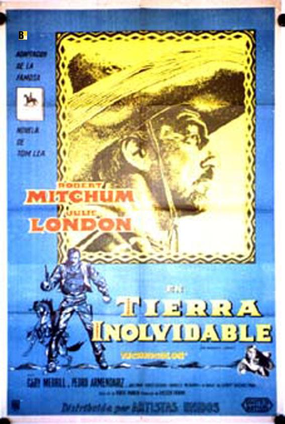 THE WONDERFUL COUNTRY MOVIE POSTER/TIERRA INOLVIDABLE/POSTER