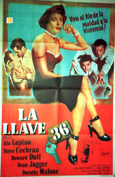 PRIVATE HELL 36 MOVIE POSTER/LLAVE 36, LA/POSTER