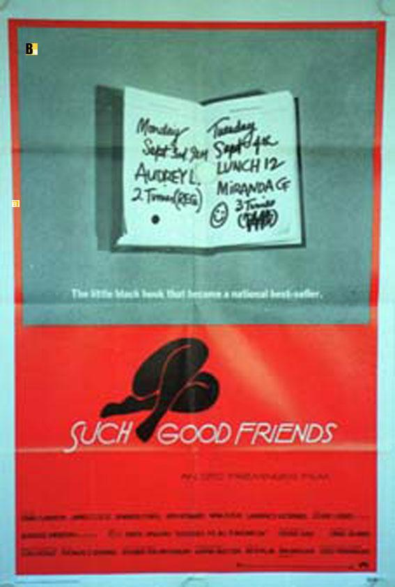 SUCH GOOD FRIENDS MOVIE POSTER/SUCH GOOD FRIENDS/POSTER