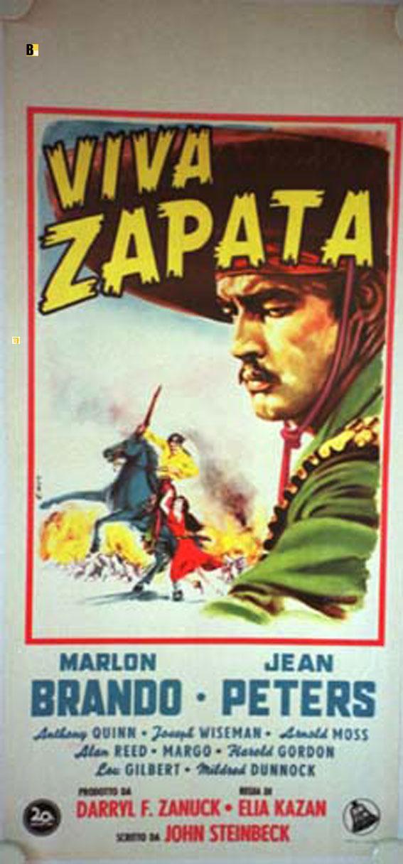 VIVA ZAPATA! MOVIE POSTER/VIVA ZAPATA/LOCANDINA