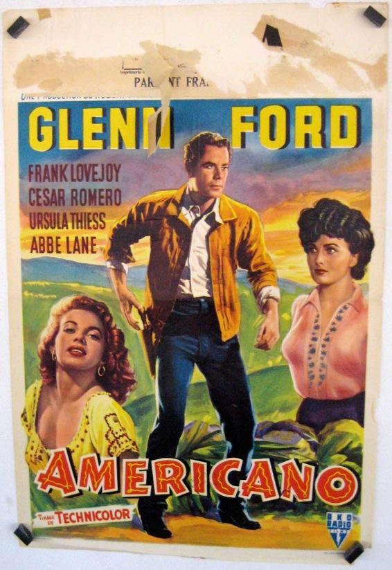THE AMERICANO MOVIE POSTER/AMERICANO/POSTER