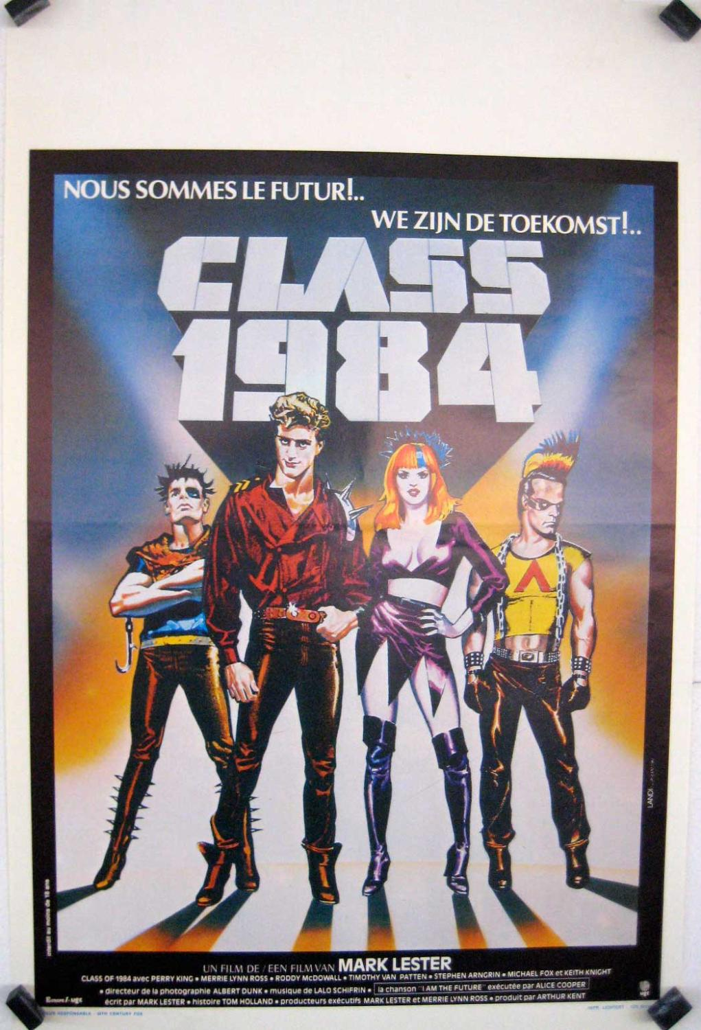 CLASS OF 1984 MOVIE POSTER/CLASS 1984/POSTER