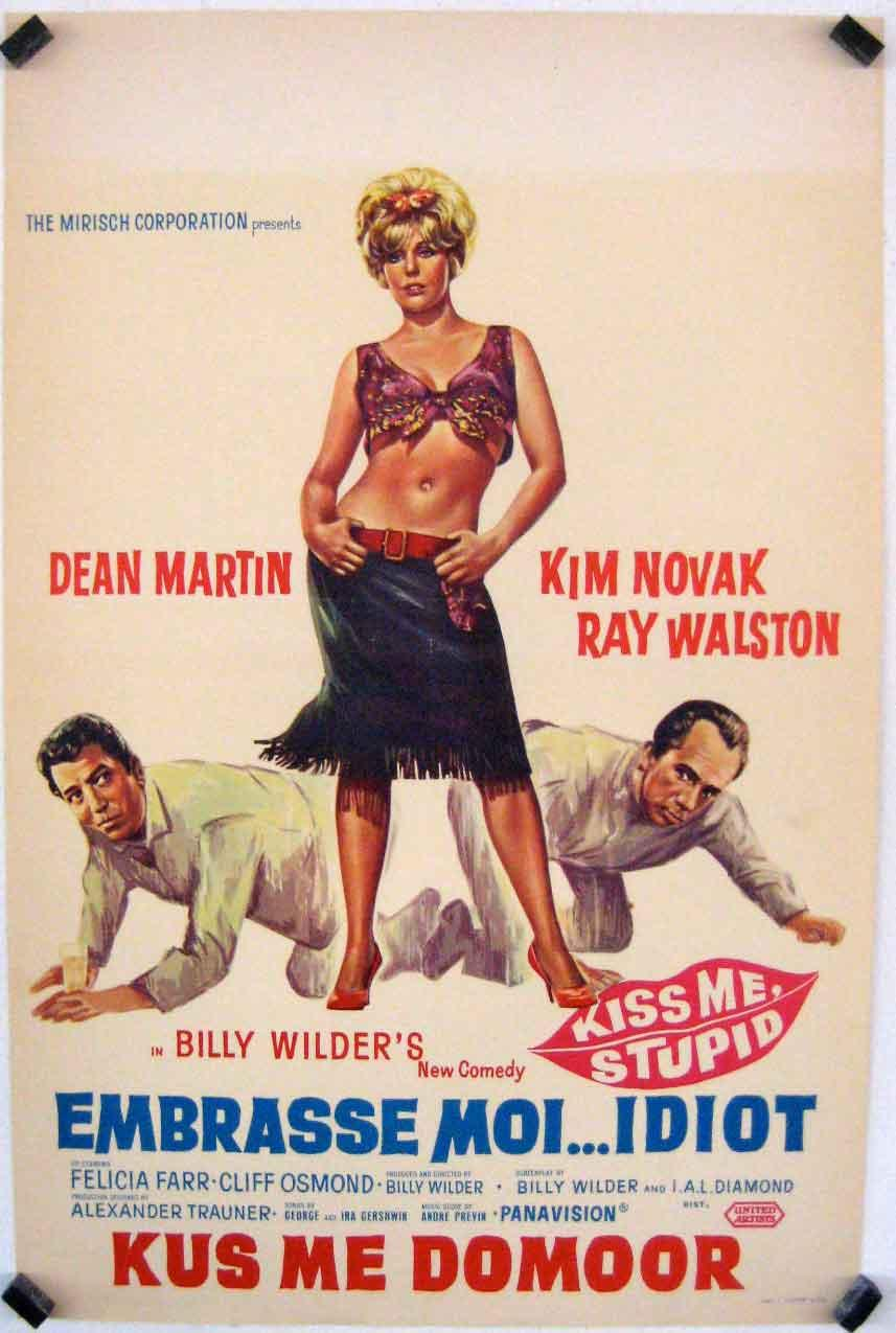 KISS ME, STUPID MOVIE POSTER/EMBRASSE MOI.IDIOT/POSTER