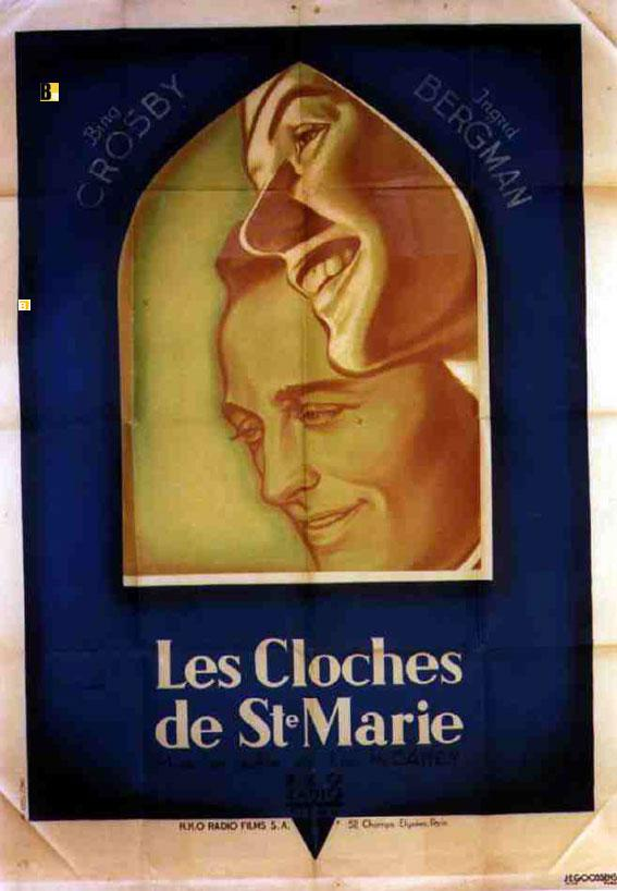 THE BELLS OF ST. MARY S MOVIE POSTER/CLOCHES DE ST. MARIE/POSTER