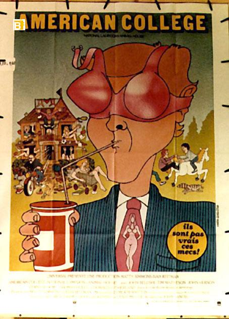 NATIONAL LAMPOON'S AT ANIMAL HOUSE MOVIE POSTER/AMERICAN COLLEGE/POSTER