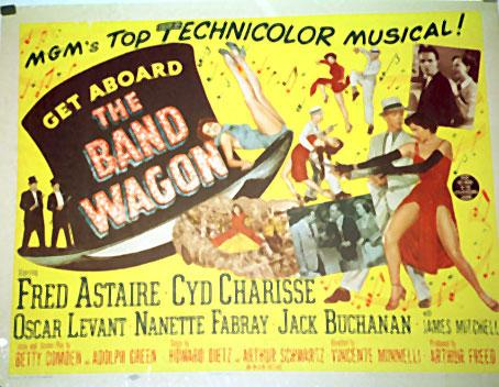 THE BAND WAGON MOVIE POSTER/BAND WAGON, THE/POSTER