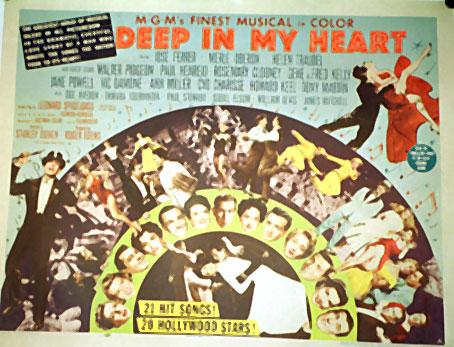 DEEP IN MY HEART MOVIE POSTER/DEEP IN MY HEART/POSTER