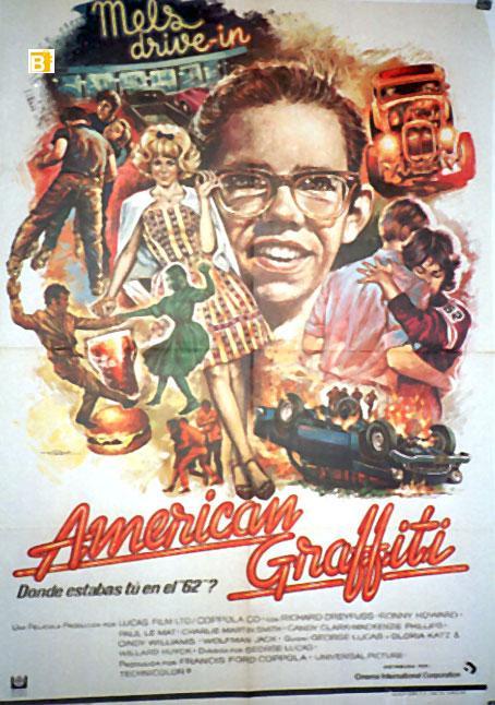 AMERICAN GRAFFITI MOVIE POSTER/AMERICAN GRAFFITI/POSTER