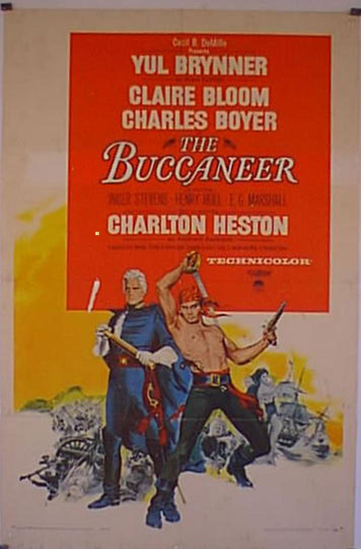 THE BUCCANEER MOVIE POSTER/BUCCANEER, THE/POSTER