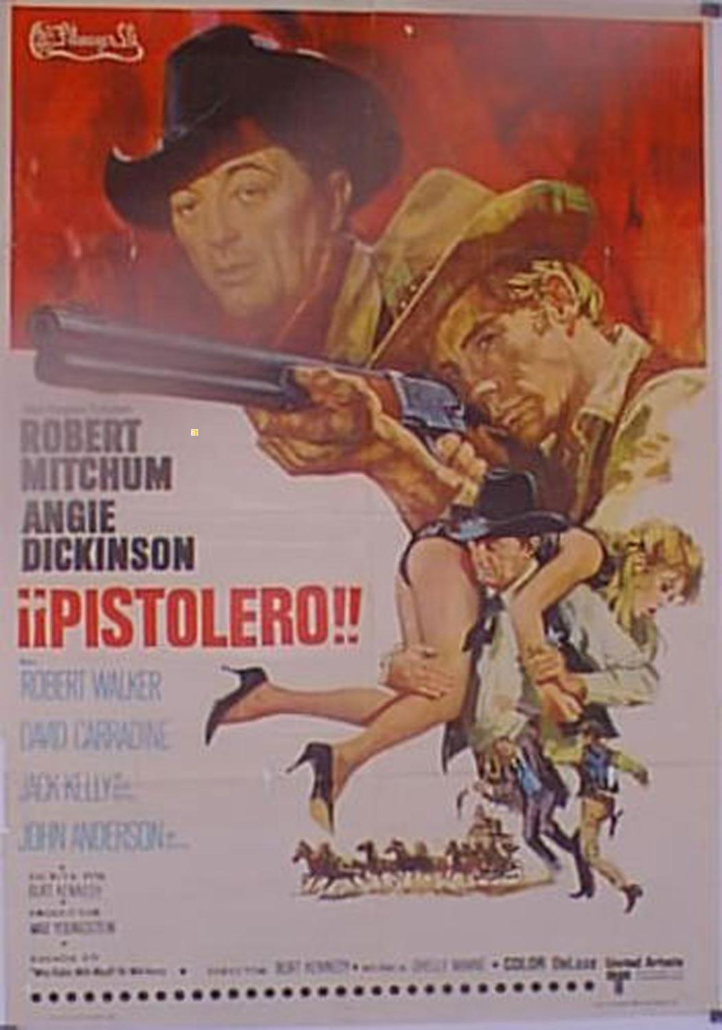 YOUNG BILLY YOUNG MOVIE POSTER/¡PISTOLERO!/POSTER