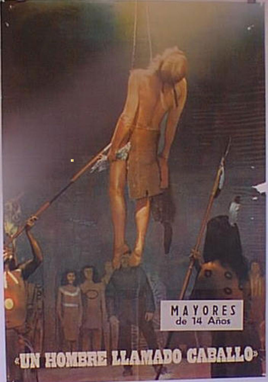 THE RETURN OF A MAN CALLED HORSE MOVIE POSTER/HOMBRE LLAMADO CABALLO, UN/POSTER