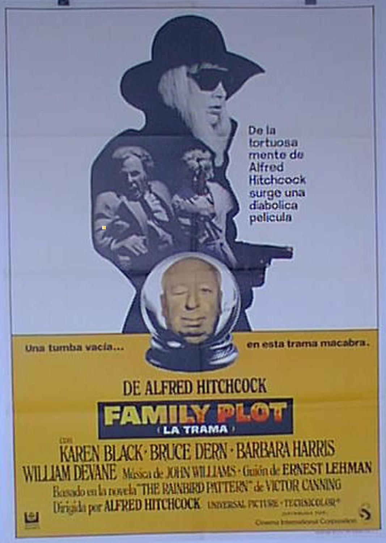 FAMILY PLOT MOVIE POSTER/FAMILY PLOT (LA TRAMA)/POSTER