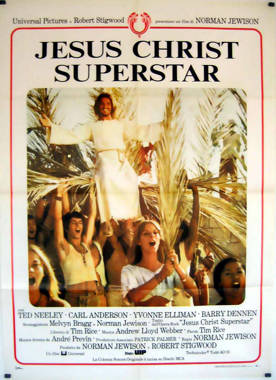 JESUS CHRIST SUPERSTAR MOVIE POSTER/JESUS CHRIST SUPERSTAR/POSTER