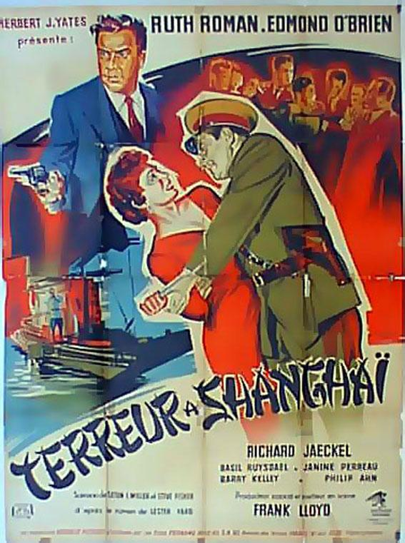 THE SHANGHAI STORY MOVIE POSTER/TERREUR A SHANGHAI/POSTER