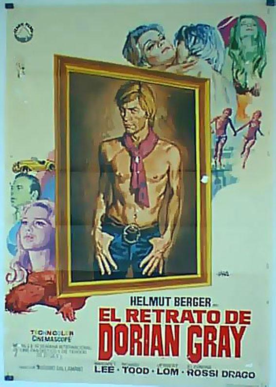 DORIAN GRAY MOVIE POSTER/RETRATO DE DORIAN GRAY, EL/POSTER