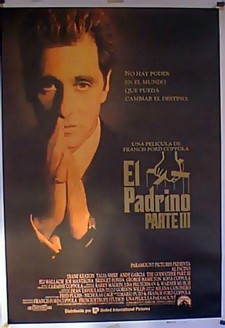 THE GODFATHER PART III MOVIE POSTER/PADRINO III, EL/POSTER