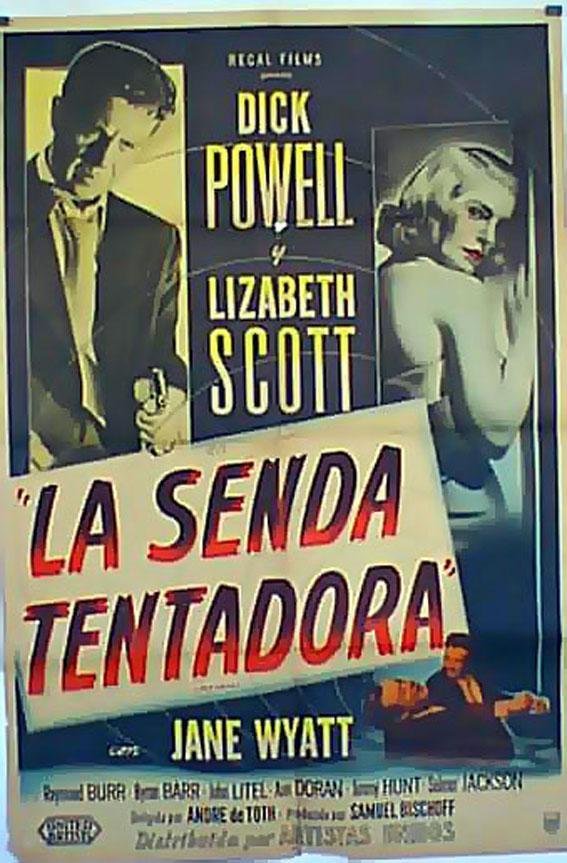 PITFALL MOVIE POSTER/SENDA TENTADORA, LA/POSTER