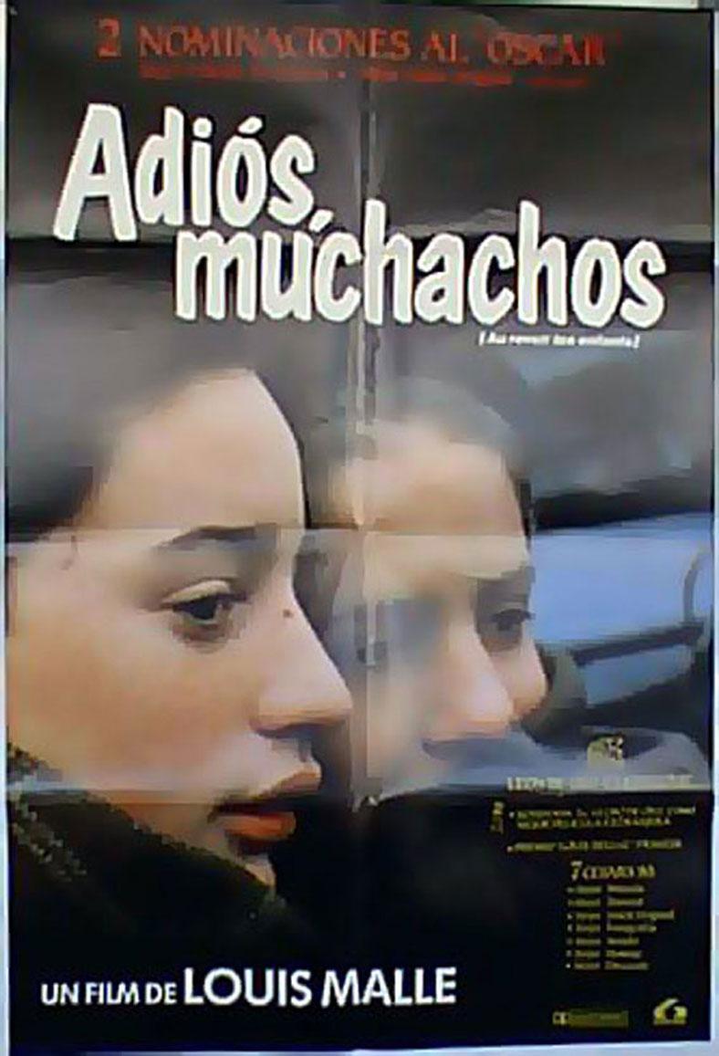 AU REVOIR LES ENFANTS MOVIE POSTER/ADIOS MUCHACHOS/POSTER