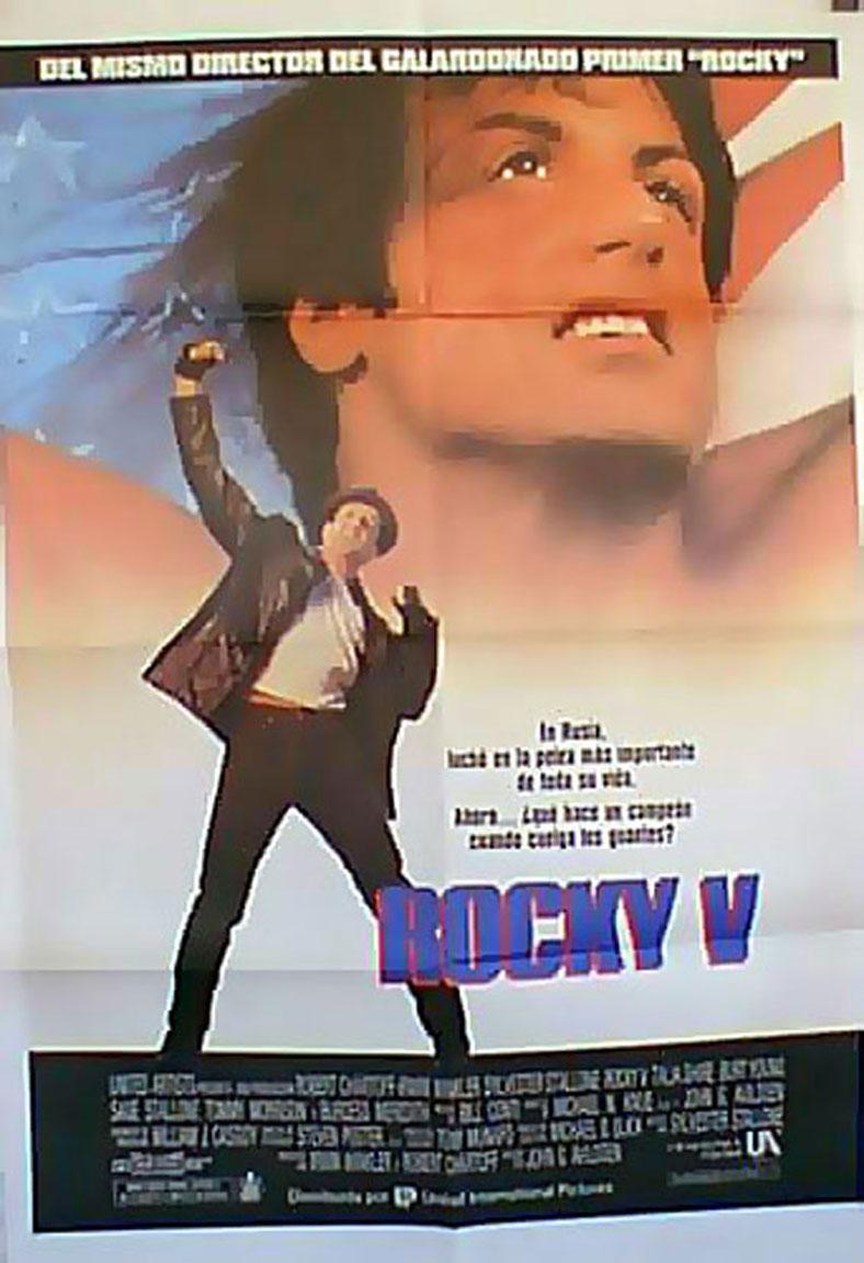 ROCKY V MOVIE POSTER/ROCKY V/POSTER