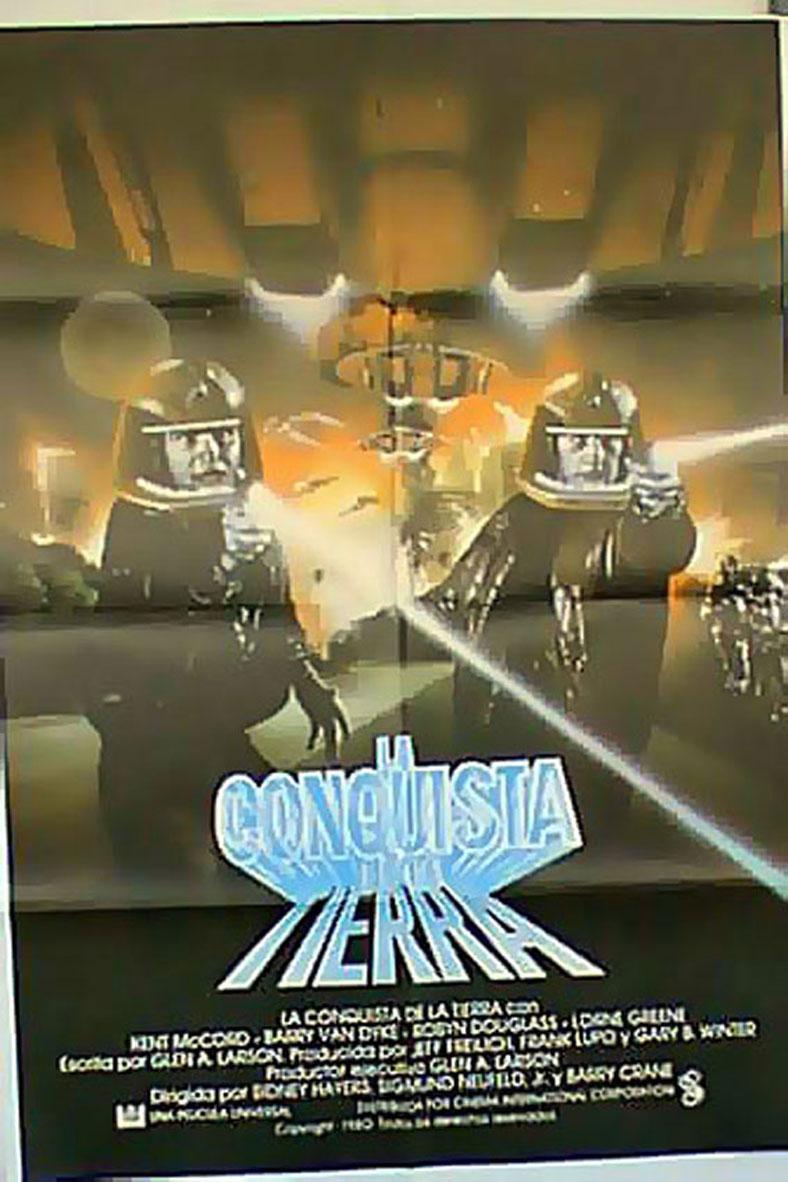 GALACTICA 1980 MOVIE POSTER/CONQUISTA DE LA TIERRA, LA/POSTER
