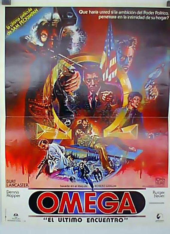 THE OSTERMAN WEEKEND MOVIE POSTER/OMEGA, EL ULTIMO ENCUENTRO/POSTER