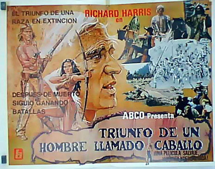 THE RETURN OF A MAN CALLED HORSE MOVIE POSTER/TRIUNFO DE UN HOMBRE LLAMADO CABALLO/POSTER