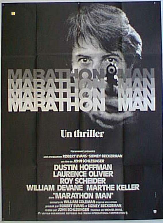 MARATHON MAN MOVIE POSTER/MARATHON MAN/POSTER