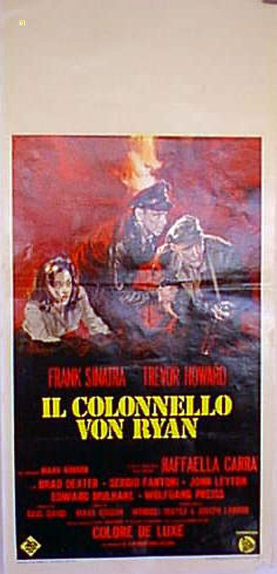 VON RYAN?S EXPRESS MOVIE POSTER/COLONNELLO VON RYAN, IL/LOCANDINA