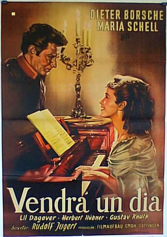 ES KOMMT EIN TAG MOVIE POSTER/VENDRA UN DIA/POSTER VENDRA UN DIA - 1950, Dir: RUDOLF JUGERT, Cast: DIETER BORSCHE, MARIA SCHELL, LIL DAGOVER, , , Nac. film: ALEMANIA, Company: , Designer: , , Nac. post