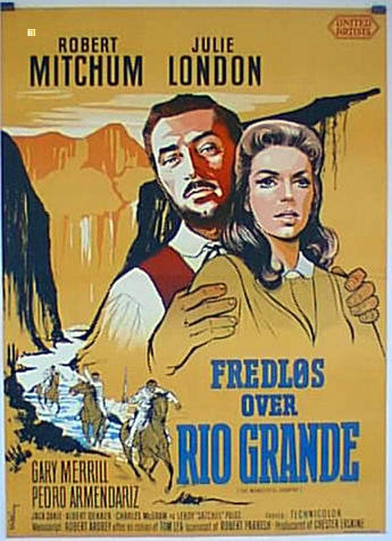 THE WONDERFUL COUNTRY MOVIE POSTER/FREDLOS OVER RIO GRANDE/POSTER