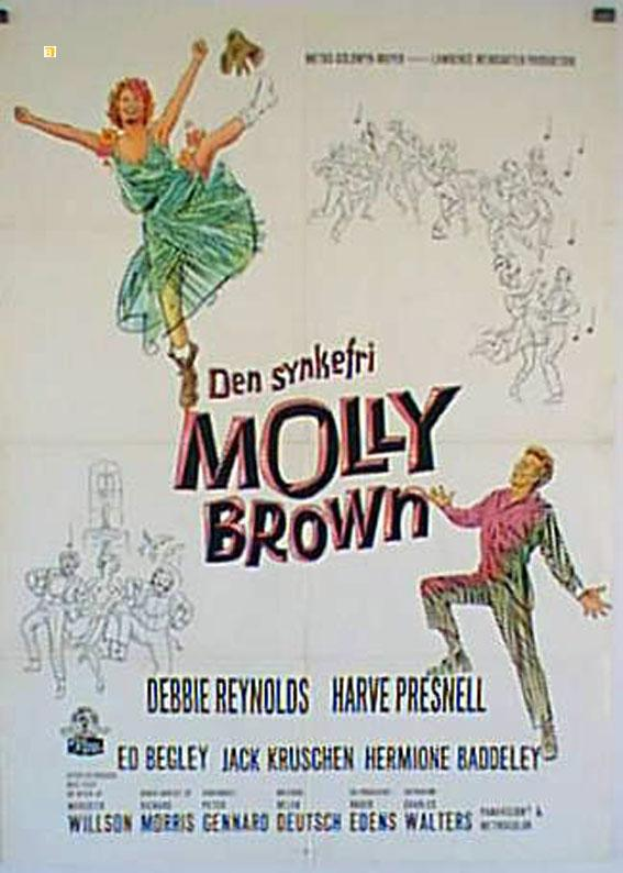 THE UNSINKABLE MOLLY BROWN MOVIE POSTER/DEN SYNKESTRI MOLLY BROWN/POSTER