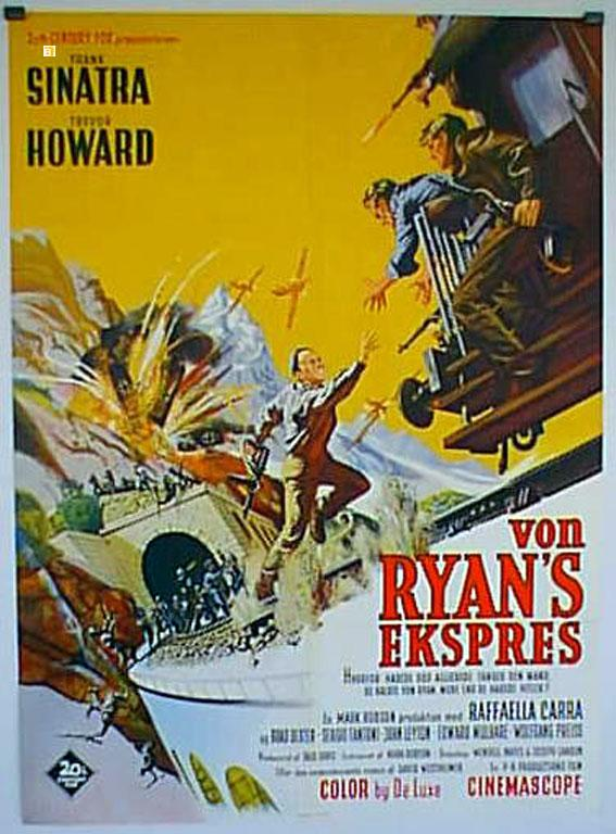 VON RYAN?S EXPRESS MOVIE POSTER/VON RYAN'S EKSPRES/POSTER